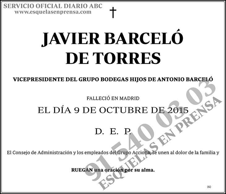 Javier Barceló de Torres